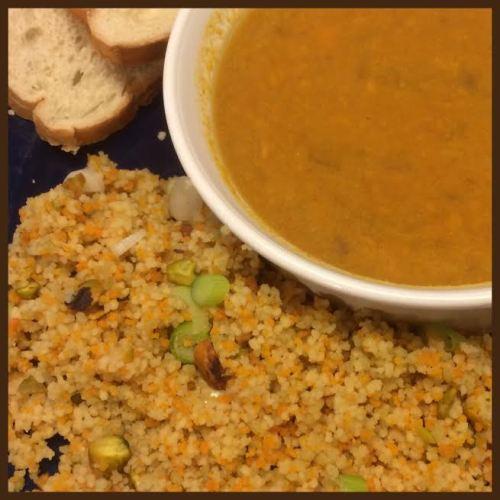 Couscous and soup